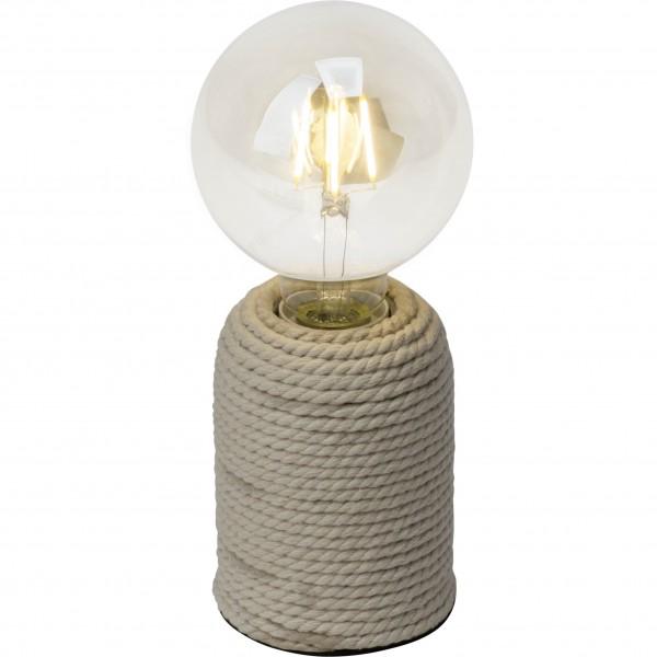 Brilliant 98843/09 Cardu Tischleuchte Beton/Seil LED Lampen