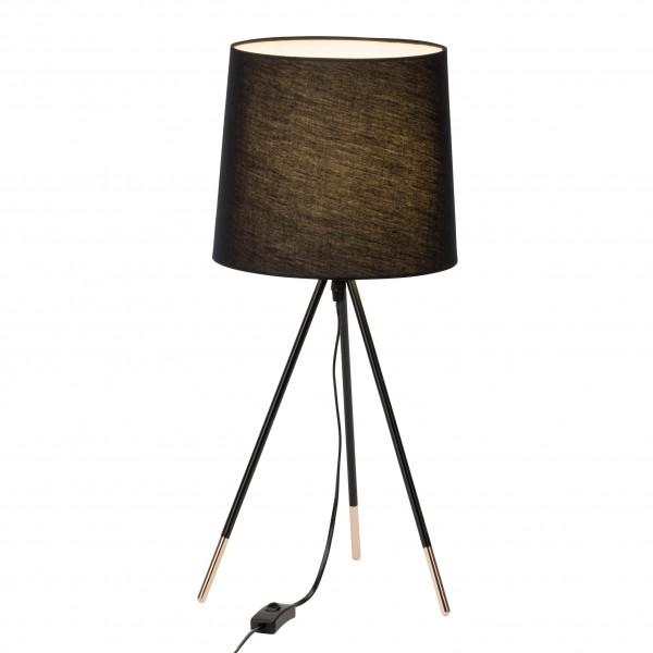 Brilliant 98955/76 Miccado Tischleuchte Textil/Metall LED Lampen
