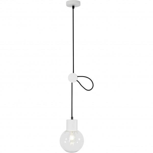 Brilliant 98974/05 Dot Pendelleuchte 15cm Glas/Metall schoene lampenwelt