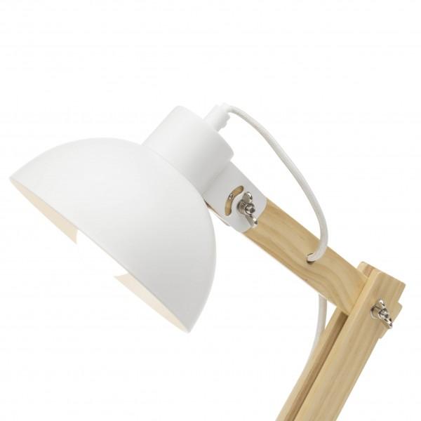 Brilliant 98979/05 Moda Tischleuchte Metall/Holz schoene lampenwelt