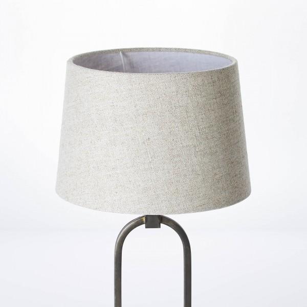 Brilliant 99019/09 Sora Tischleuchte 25cm Metall/Textil Beleuchtung