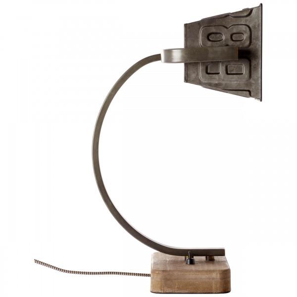 Brilliant 99022/46 Drake Tischleuchte Metall/Holz Beleuchtung