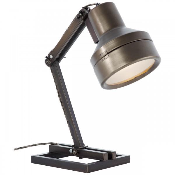 Brilliant 99037/46 Hardwork Tischleuchte Metall/Glas LED Lampen