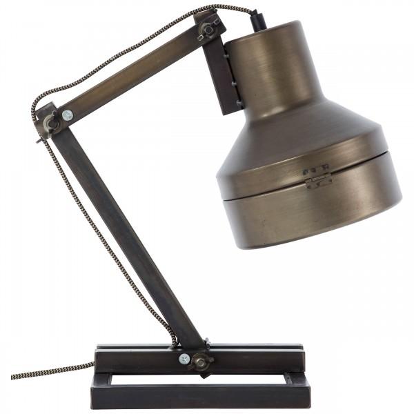 Brilliant 99037/46 Hardwork Tischleuchte Metall/Glas Beleuchtung