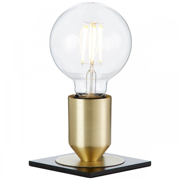 Brilliant 99064/78 Kandler Tischleuchte Metall LED Lampen