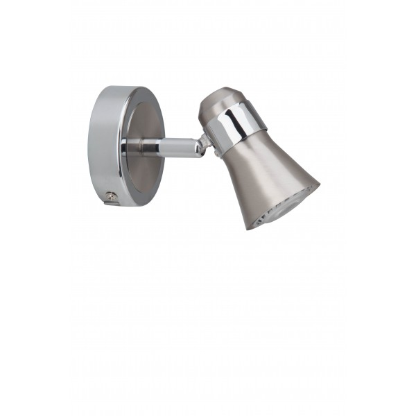 Brilliant G15410/77 Sanny Wandspot Metall schoene lampenwelt