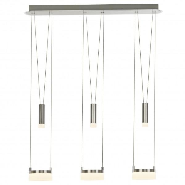 Brilliant G17573/13 Better Pendelleuchte, 3-flammig Metall/Kunststoff LED Lampen