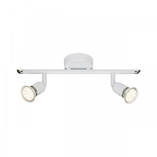 Brilliant G28813/05 Loona Spotrohr, 2-flammig Metall LED Lampen