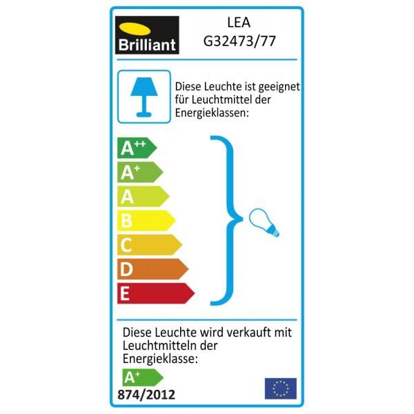 Brilliant G32473/77 Lea Pendelleuchte, 5-flammig Metall/Glas schoene lampenwelt