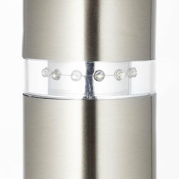 Brilliant G46789/82 Bole Aussensockelleuchte mit Bewegungsmelder Metall/Kunststoff Beleuchtung