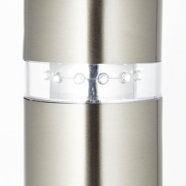 Brilliant G46799/82 Bole Aussenstandleuchte mit Bewegungsmelder Metall/Kunststoff Leuchten