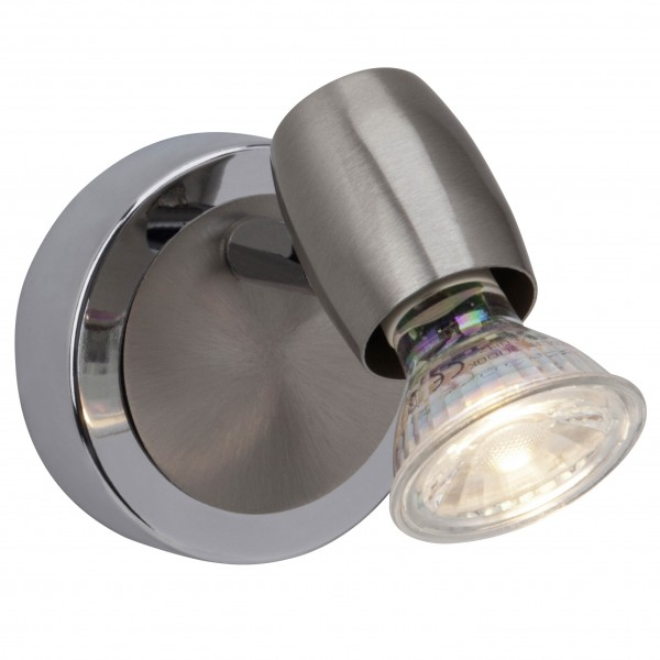 Brilliant G54810/77 Wesley Wandspot Metall LED Lampen