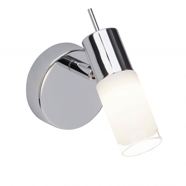 Brilliant G57510/75 Zoey Wandspot Metall/Glas LED Lampen