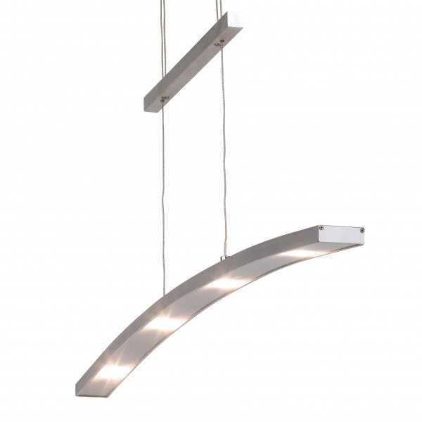 Brilliant G65172/21 Art Work Pendelleuchte, 6-flammig Aluminium/Kunststoff schoene lampenwelt