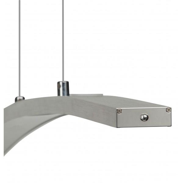 Brilliant G65172/21 Art Work Pendelleuchte, 6-flammig Aluminium/Kunststoff Beleuchtung