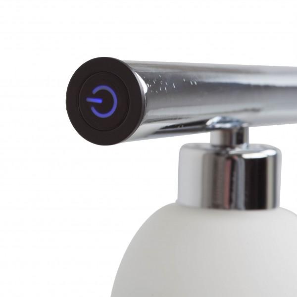 Brilliant G70573/15 Tonja Pendelleuchte, 5-flammig Metall/Glas schoene lampenwelt