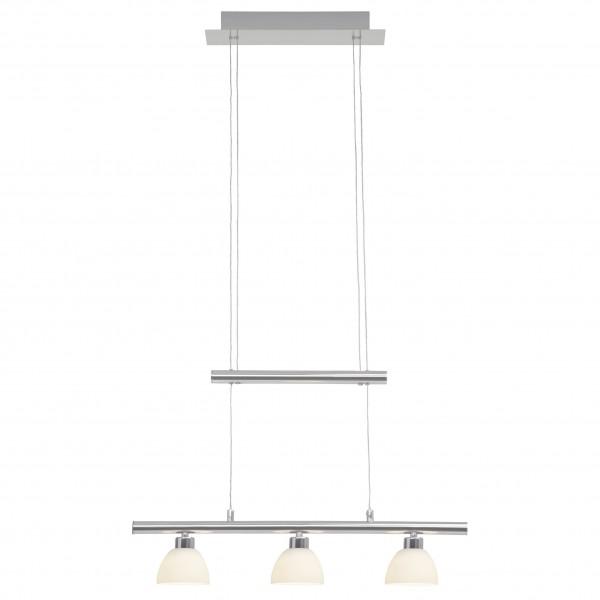 Brilliant G70579/15 Tonja Pendelleuchte, 3-flammig Metall/Glas LED Lampen