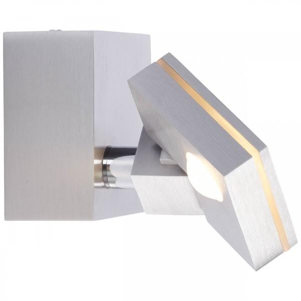 Brilliant G72510/21 90 Degree Wandspot Metall/Kunststoff LED Lampen