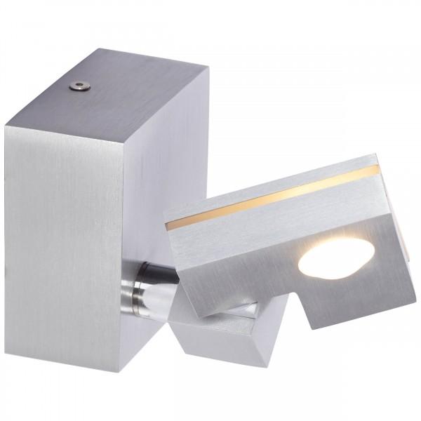 Brilliant G72510/21 90 Degree Wandspot Metall/Kunststoff Leuchten