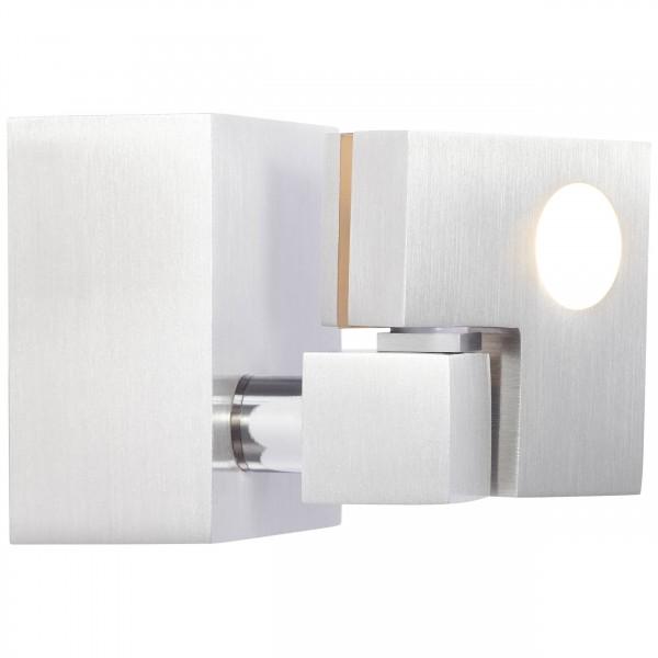 Brilliant G72510/21 90 Degree Wandspot Metall/Kunststoff Beleuchtung