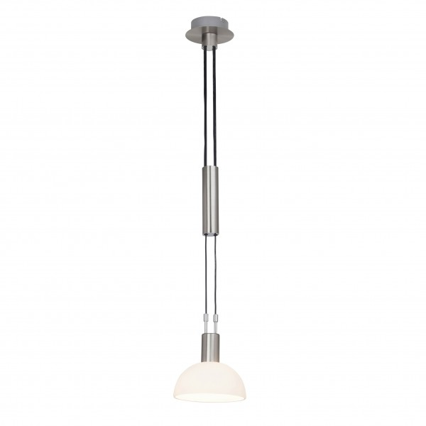 Brilliant G74479/77 Robinia Pendelleuchte, 1-flammig Metall/Glas LED Lampen