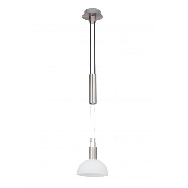 Brilliant G74479/77 Robinia Pendelleuchte, 1-flammig Metall/Glas schoene lampenwelt