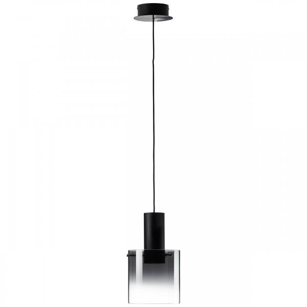 Brilliant G75570/93 Beth Pendelleuchte, 1-flammig Metall/Glas schoene lampenwelt