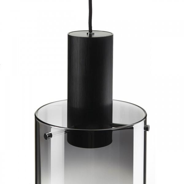Brilliant G75570/93 Beth Pendelleuchte, 1-flammig Metall/Glas Beleuchtung