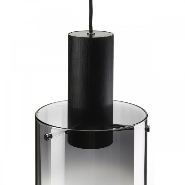Brilliant G75573/93 Beth Pendelleuchte, 3-flammig Metall/Glas Beleuchtung