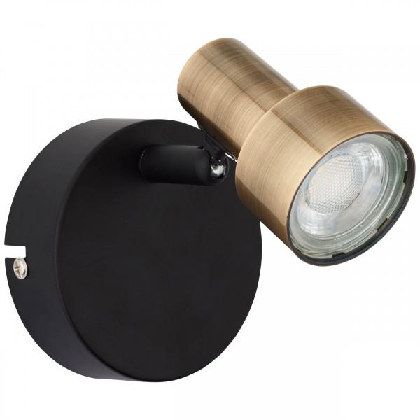 Brilliant G79410/12 Croyden Wandspot Metall/Kunststoff schoene lampenwelt