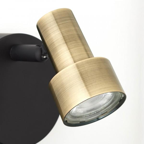 Brilliant G79410/12 Croyden Wandspot Metall/Kunststoff Stehlampe