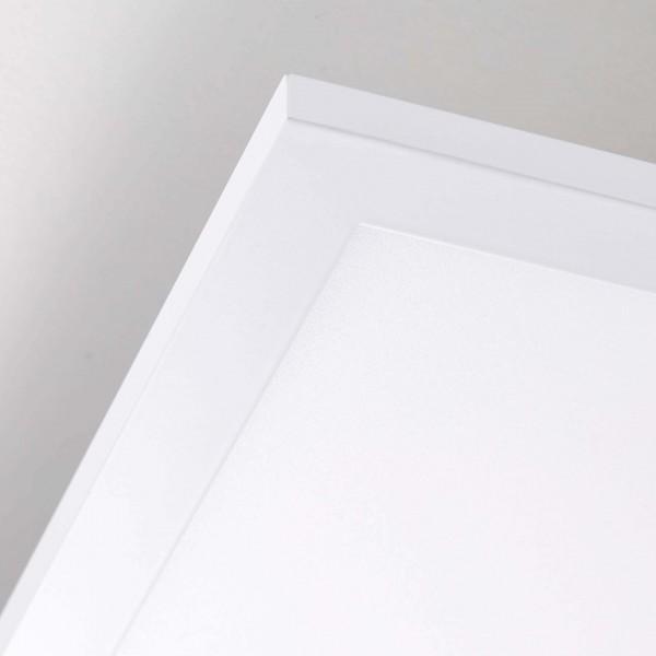 Brilliant G90350/05 Charla Deckenaufbau-Paneel 30x30cm Metall/Kunststoff Deckenleuchte