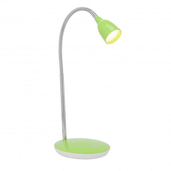 Brilliant G92935/04 Anthony Tischleuchte Metall/Kunststoff gruen LED Lampen