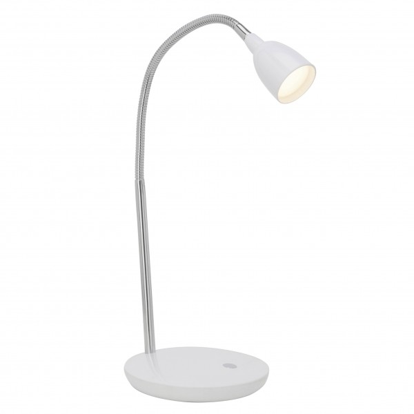 Brilliant G92935/05 Anthony Tischleuchte Metall/Kunststoff weiss LED Lampen