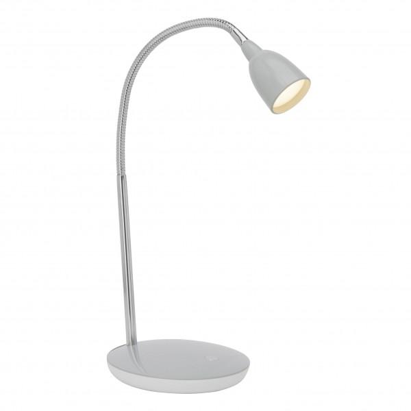 Brilliant G92935/11 Anthony Tischleuchte Metall/Kunststoff silber LED Lampen