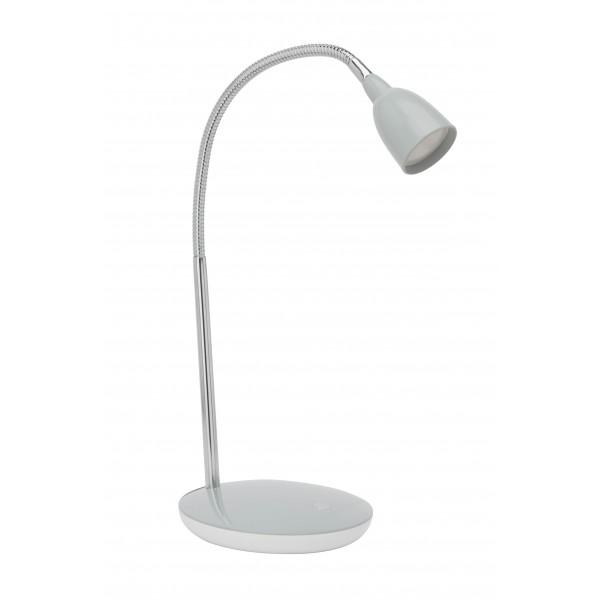 Brilliant G92935/11 Anthony Tischleuchte Metall/Kunststoff silber schoene lampenwelt