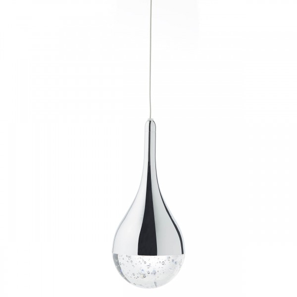 Brilliant G93423/15 Frizzante Pendelleuchte, 3-flammig Metall/Glas Beleuchtung