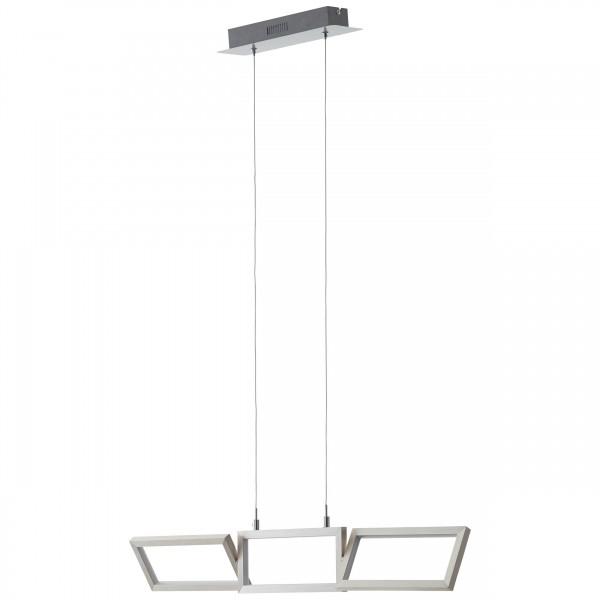 Brilliant G93450/21 Tunar Pendelleuchte, 3-flammig Aluminium/Kunststoff schoene lampenwelt
