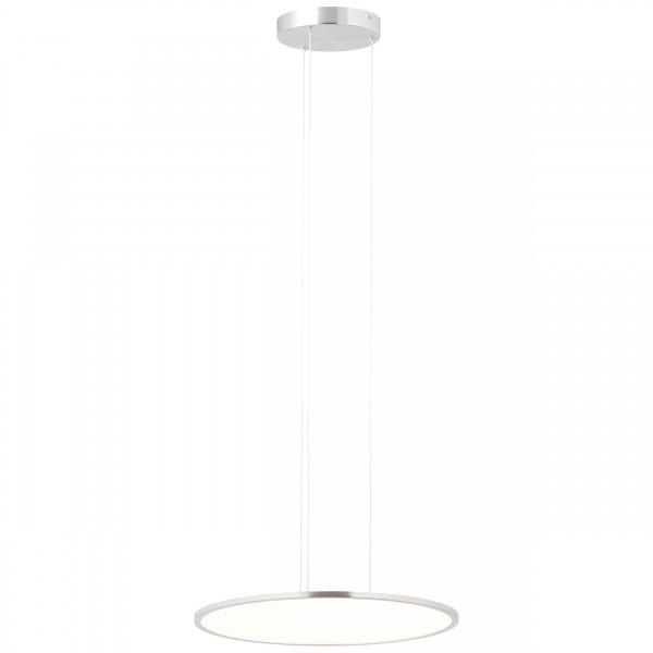 Brilliant G93694/13 Ceres Pendelleuchte Paneel 45cm Metall/Kunststoff LED Lampen