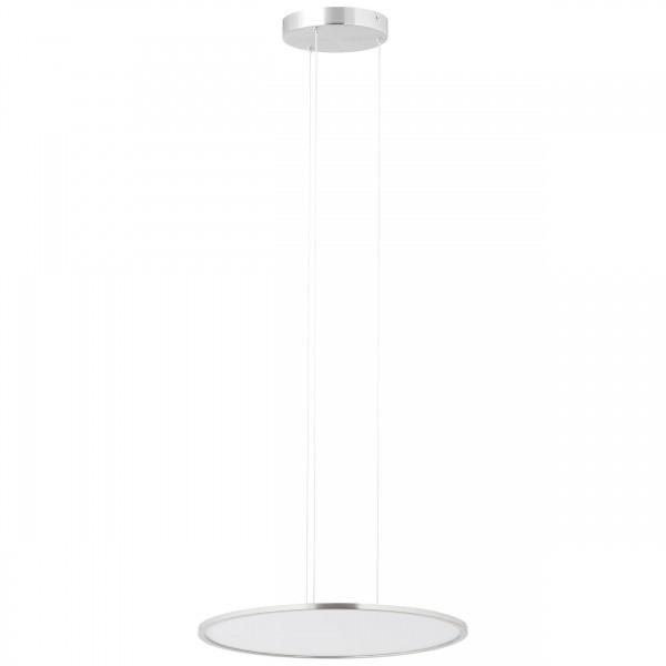 Brilliant G93694/13 Ceres Pendelleuchte Paneel 45cm Metall/Kunststoff schoene lampenwelt
