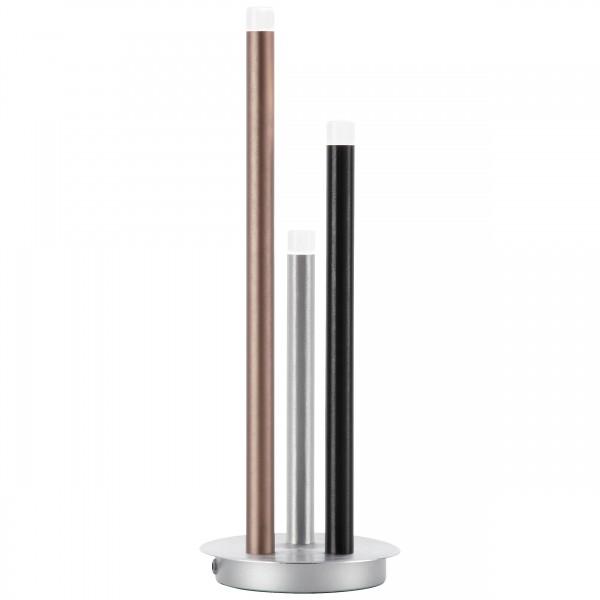 Brilliant G93770/21 Cembalo Tischleuchte, 3-flammig Metall/Kunststoff LED Lampen