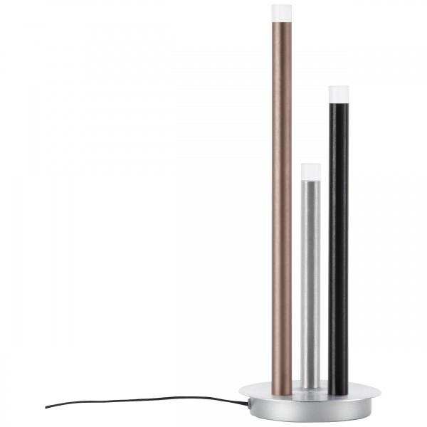 Brilliant G93770/21 Cembalo Tischleuchte, 3-flammig Metall/Kunststoff schoene lampenwelt