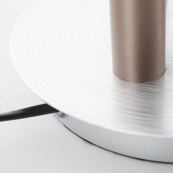 Brilliant G93770/21 Cembalo Tischleuchte, 3-flammig Metall/Kunststoff Beleuchtung