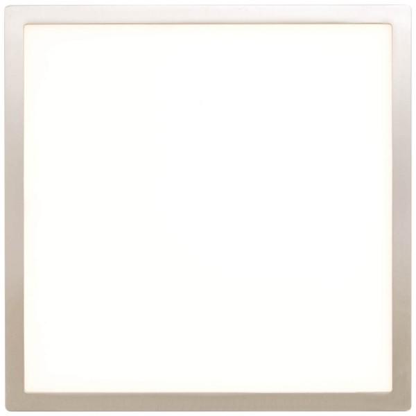 Brilliant G94462/13 Ceres Deckenaufbau-Paneel 25x25cm Metall/Kunststoff Beleuchtung