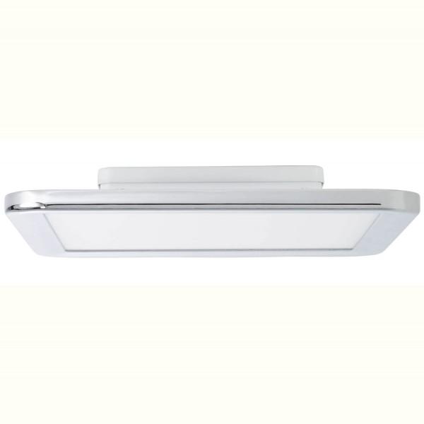Brilliant G94486/15 Neptun Deckenaufbau-Paneel 30x30cm Metall/Kunststoff Beleuchtung