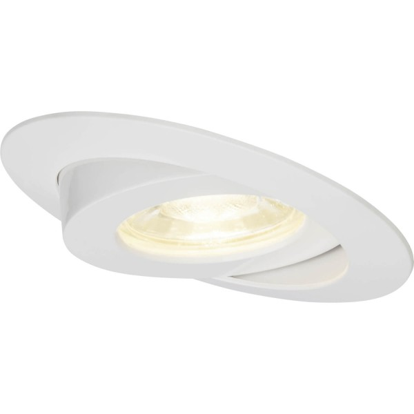 Brilliant G94682/05 Nodus Einbauleuchtenset: 3 Stueck, schwenkbar Kunststoff Beleuchtung