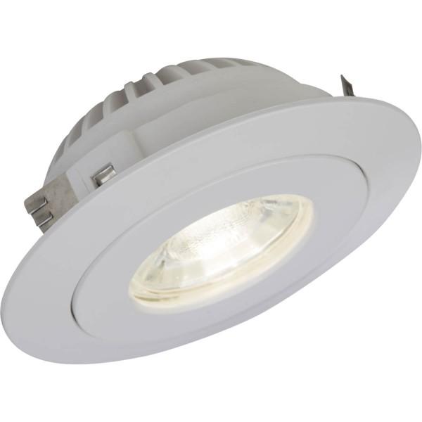 Brilliant G94683/05 Nodus Einbauleuchtenset: 3 Stueck, schwenkbar Kunststoff Beleuchtung