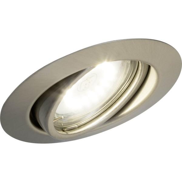 Brilliant G94688A13 Honor Einbauleuchtenset: 3 Stueck, schwenkbar Metall schoene lampenwelt