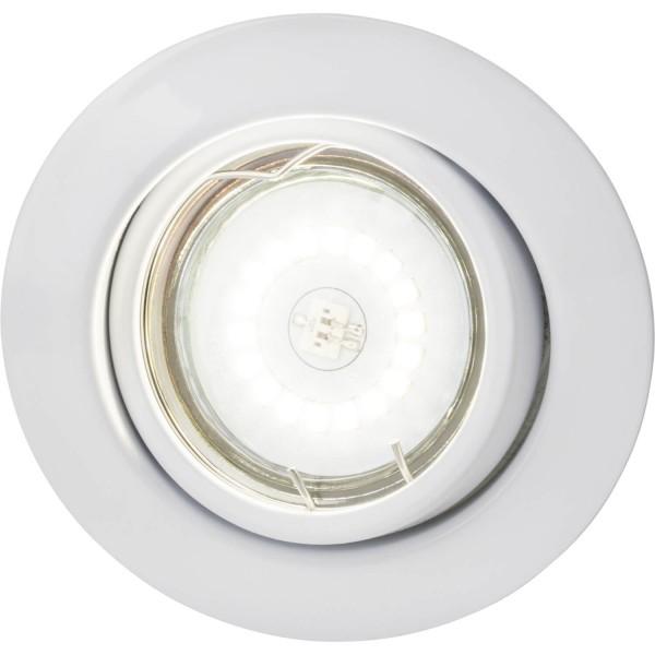 Brilliant G94690A05 Honor Einbauleuchtenset: 3 Stueck, schwenkbar Metall Beleuchtung