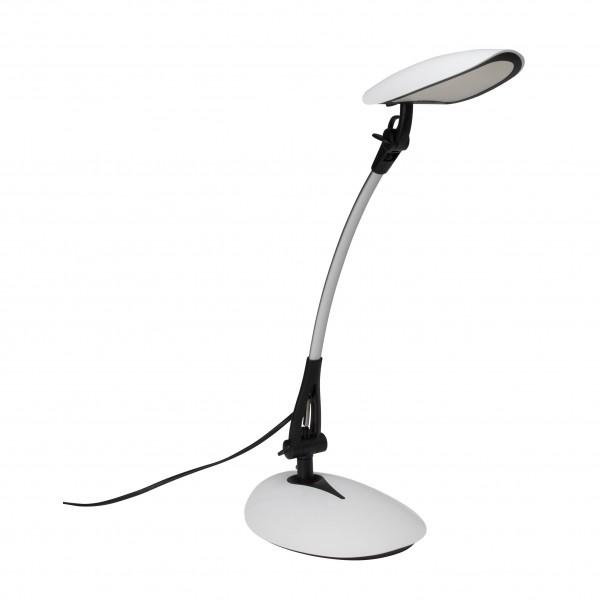 Brilliant G94812/75 Sheldon Schreibtischleuchte Kunststoff/Metall schoene lampenwelt